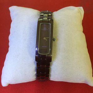 ONISS Paris Ladies Sapphire Crystal Brown Watch